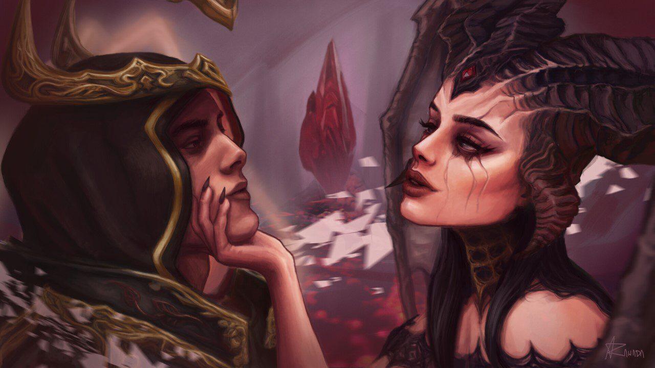 Chuyện tình 'thiên thần và ác quỷ' đã tạo nên thế giới Diablo như thế nào?