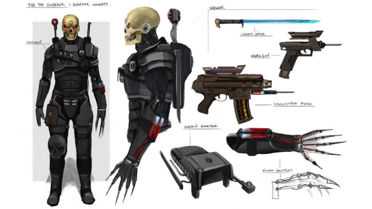 Eversor Assassin: Những kẻ hủy diệt trong tổ chức sát thủ của Đế chế - Eversor