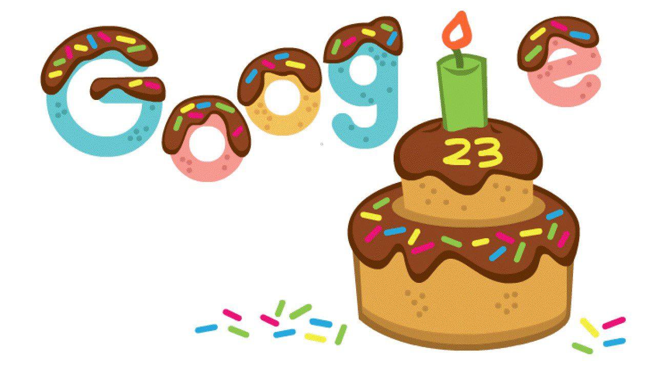 Google giản dị đón mừng sinh nhật 23 tuổi - Google