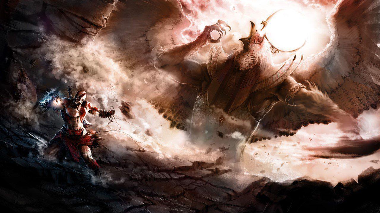 Trong tương lai God of War có thể lấy bối cảnh Ai Cập? Kratos vs Ra? - Kratos